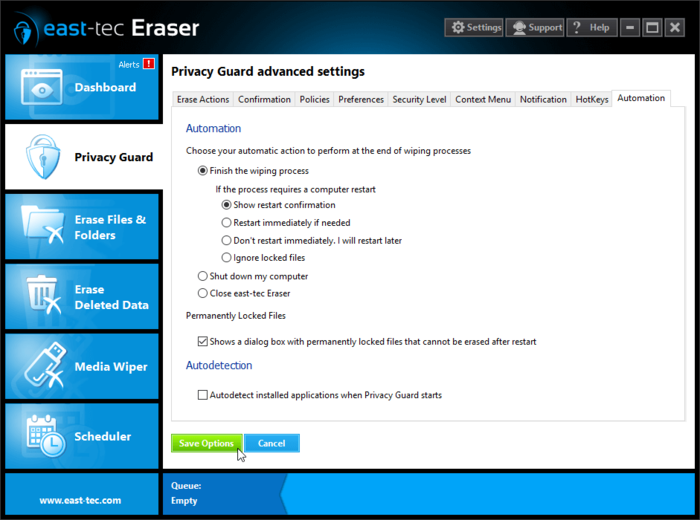 Screenshot 3 of east-tec Eraser