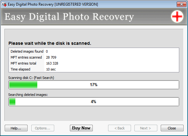 Screenshot 2 of Easy Digital Photo Recovery