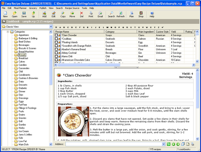 recipes database download koni polycode co
