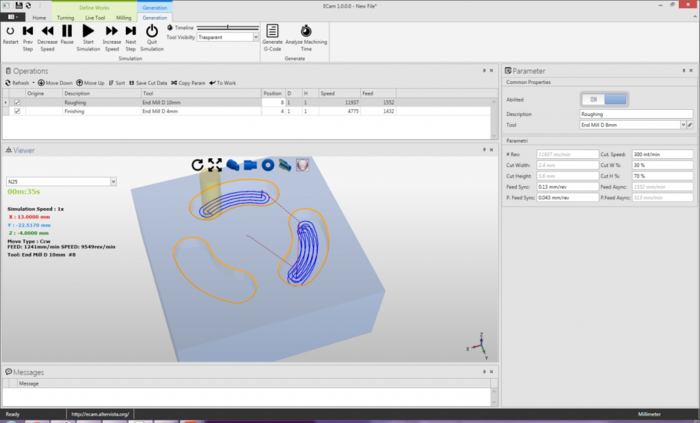 Free mechanical engineering software cad/cam.