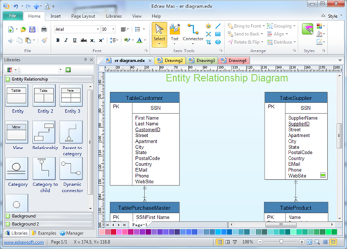 Erd Diagram Tool Free Download Best Secret Wiring Diagram