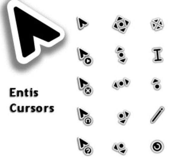 Screenshot 2 of Entis Cursors