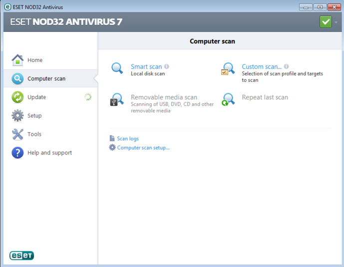Screenshot 3 of ESET NOD32 Antivirus