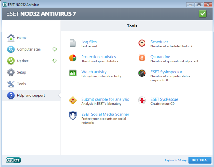 Screenshot 4 of ESET NOD32 Antivirus