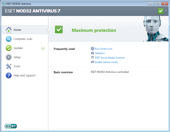 Screenshot 6 of ESET NOD32 Antivirus
