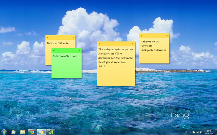 Old classic sticky notes for windows 10.