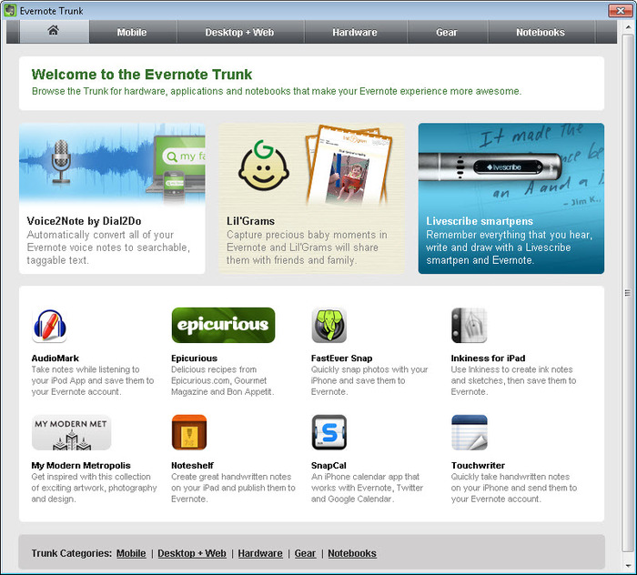 Screenshot 6 of EverNote