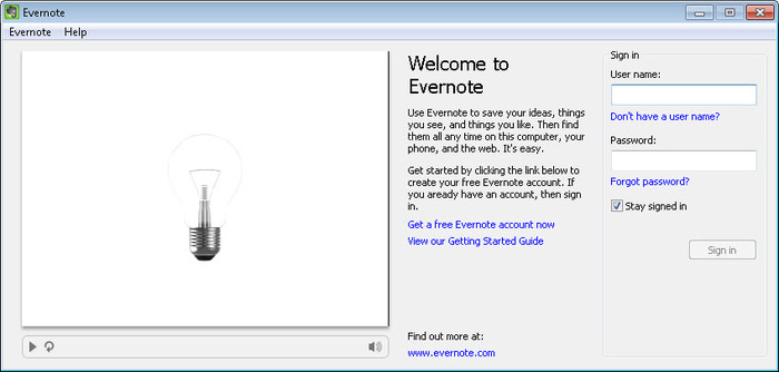 Screenshot 1 of EverNote