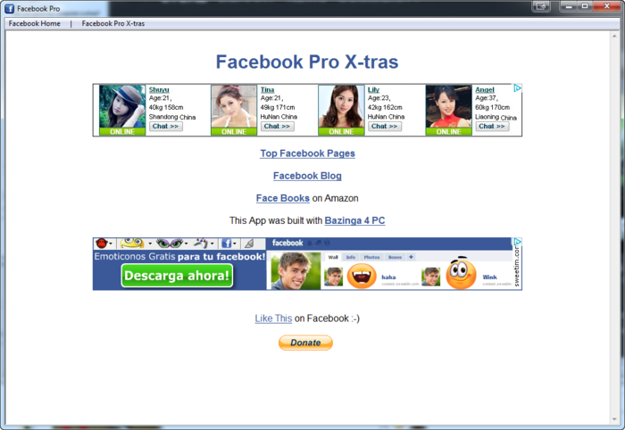 Screenshot 1 of Facebook Pro
