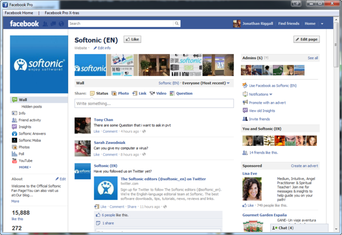 Screenshot 4 of Facebook Pro