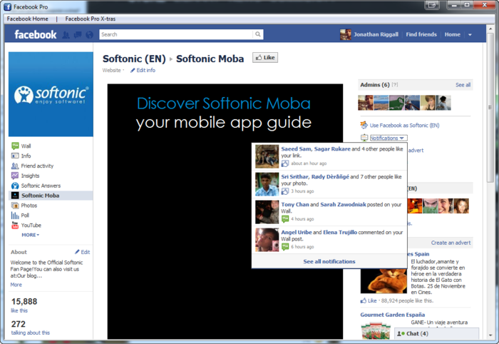 Screenshot 2 of Facebook Pro