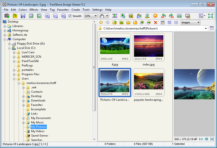 Download FastStone Image Viewer free — NetworkIce com