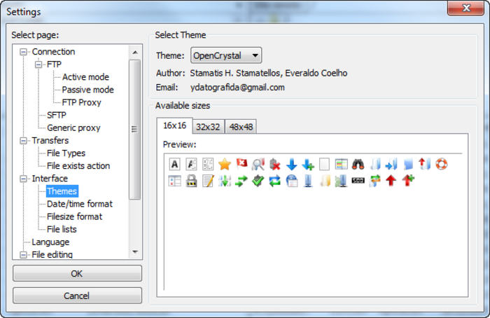 Screenshot 4 of FileZilla