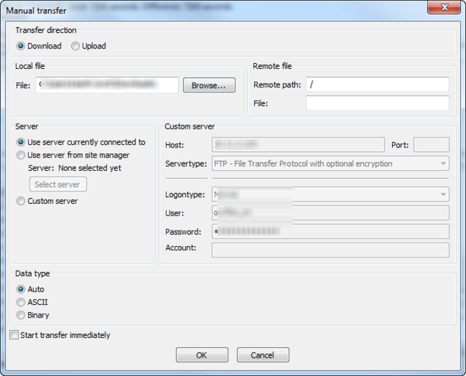 Screenshot 5 of FileZilla