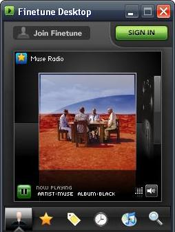 Screenshot 3 of Finetune Desktop