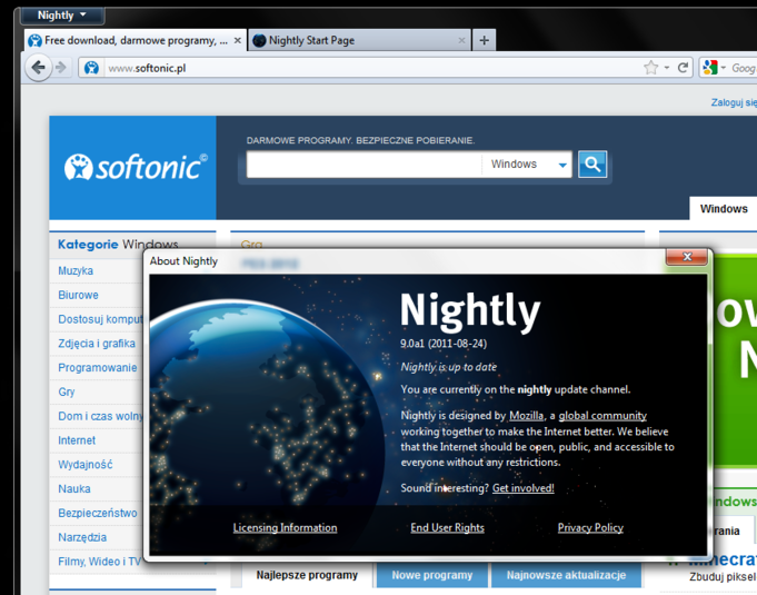 Screenshot 6 of Firefox 64-bit