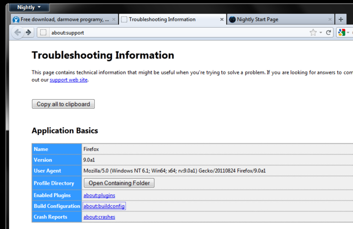 Screenshot 5 of Firefox 64-bit