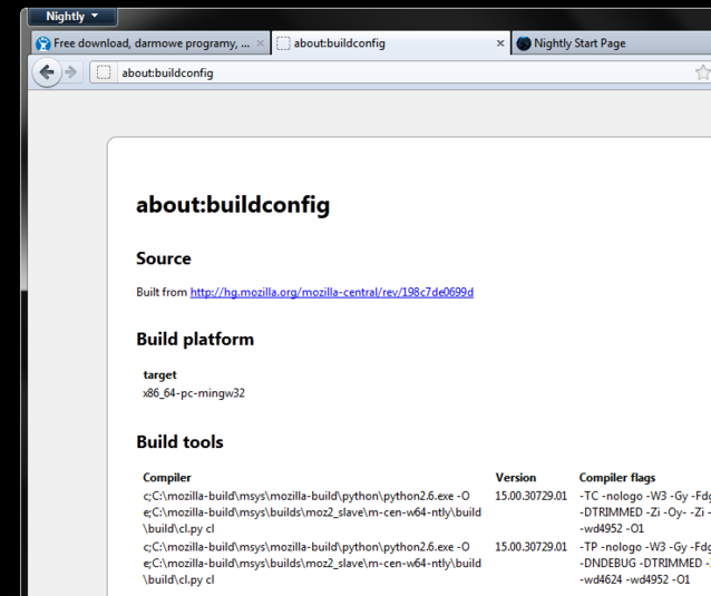 Screenshot 2 of Firefox 64-bit