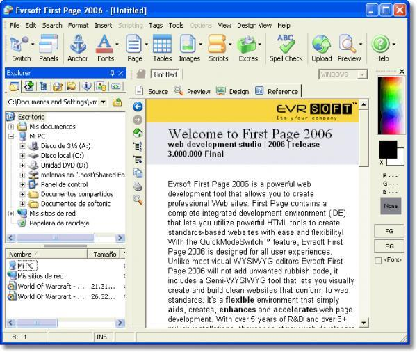 Download First Page free — NetworkIce com