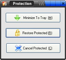 Screenshot 1 of Folder Protection