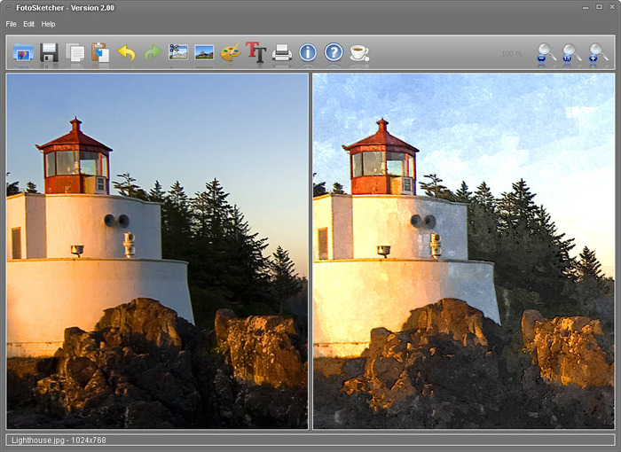 Fotosketcher portable 3. 30 (photo effects) released | portableapps. Com.