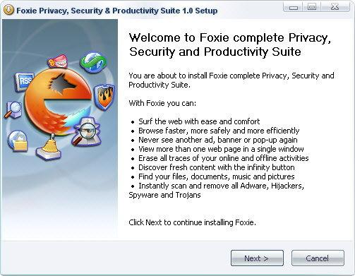 Screenshot 2 of Foxie Privacy, Security & Productivity Suite