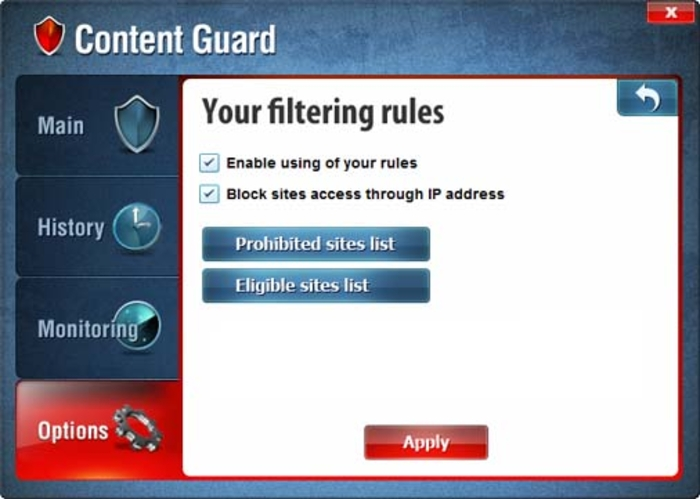 Screenshot 5 of FPS Content Control
