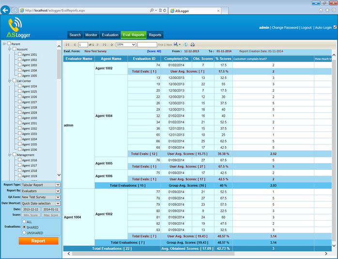 Screenshot 2 of Free Call Recording and Voice Logging System