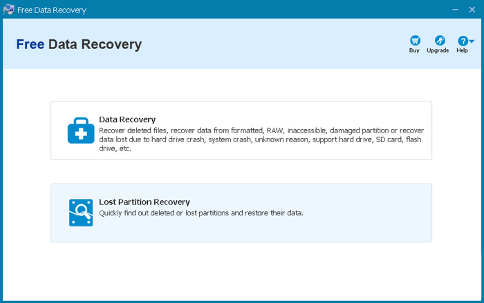 Screenshot 3 of Free Data Recovery
