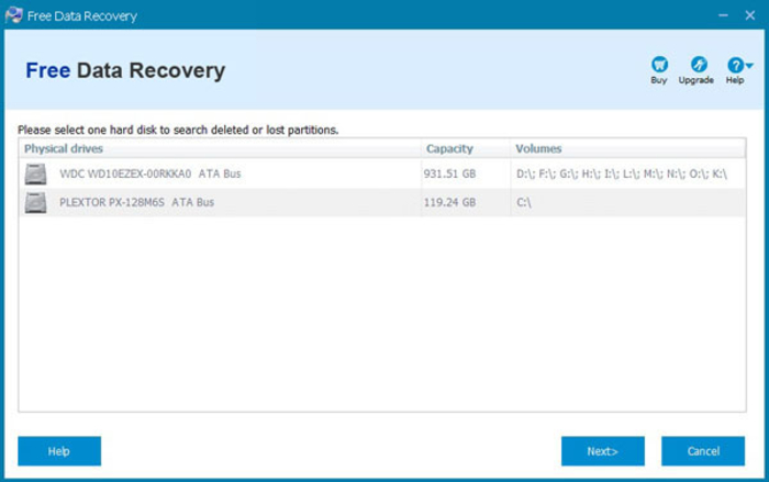 Screenshot 5 of Free Data Recovery
