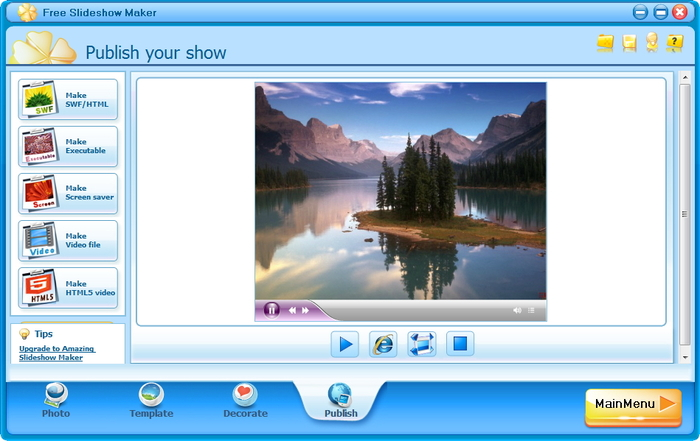 Download Free Slideshow Maker free — NetworkIce com