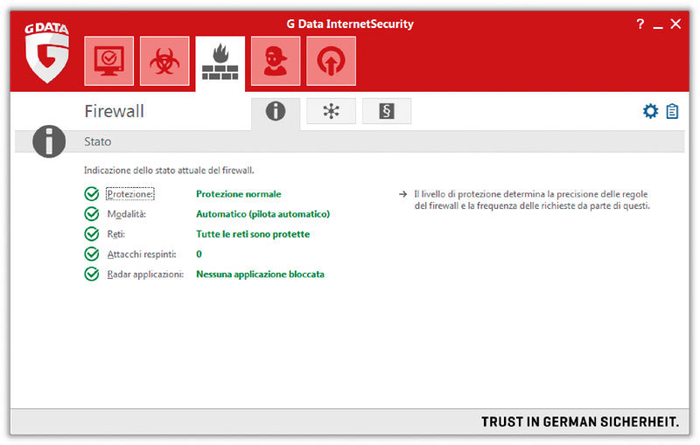 Screenshot 1 of G Data InternetSecurity 2014