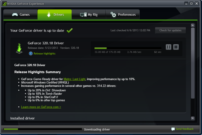 Nvidia geforce graphics driver 381. 89 is up for grabs download now.