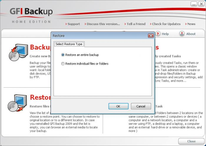 Screenshot 10 of GFI Backup