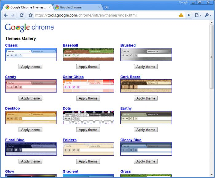 Screenshot 5 of Google Chrome