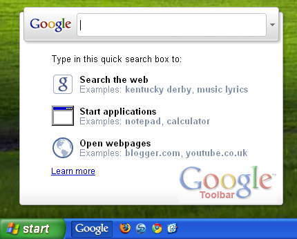 Screenshot 5 of Google Toolbar IE
