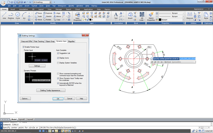 Screenshot 1 of GstarCAD (64-Bit)