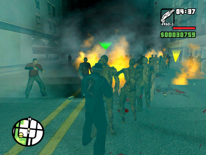 Snowman zombies for gta san andreas.