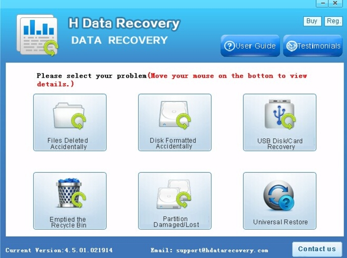 Download HData Recovery Master free — NetworkIce com