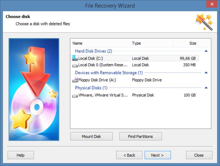 Screenshot 6 of Hetman Partition Recovery