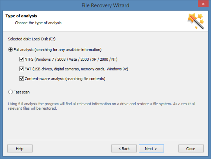 Screenshot 7 of Hetman Partition Recovery