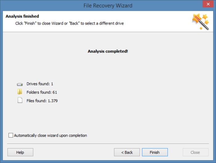 Screenshot 2 of Hetman Partition Recovery