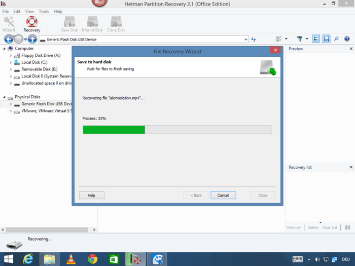 Screenshot 10 of Hetman Partition Recovery