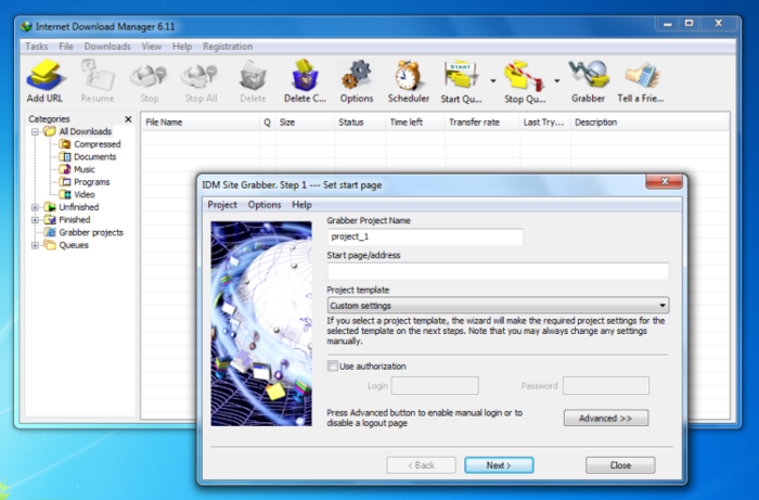 Screenshot 9 of Internet Download Manager