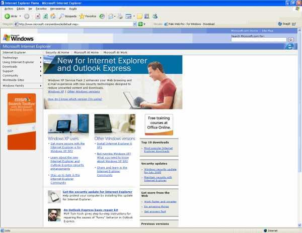 Download internet explorer 6 free — networkice. Com.