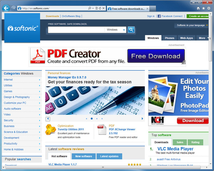 Download Internet Explorer 9 free — NetworkIce com