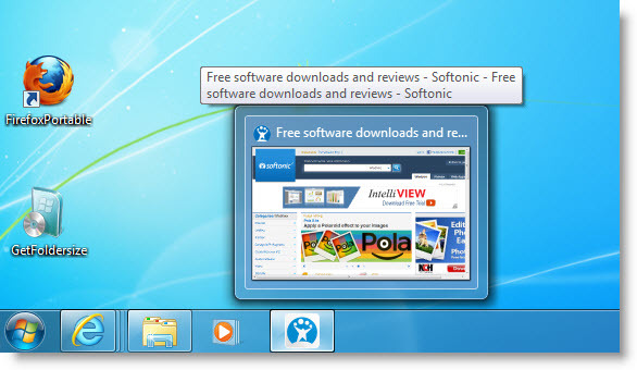 Screenshot 3 of Internet Explorer 9