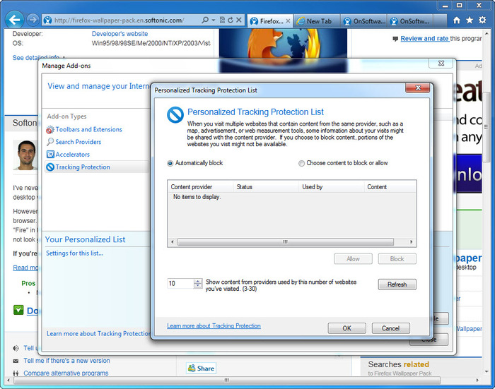 Screenshot 13 of Internet Explorer 9