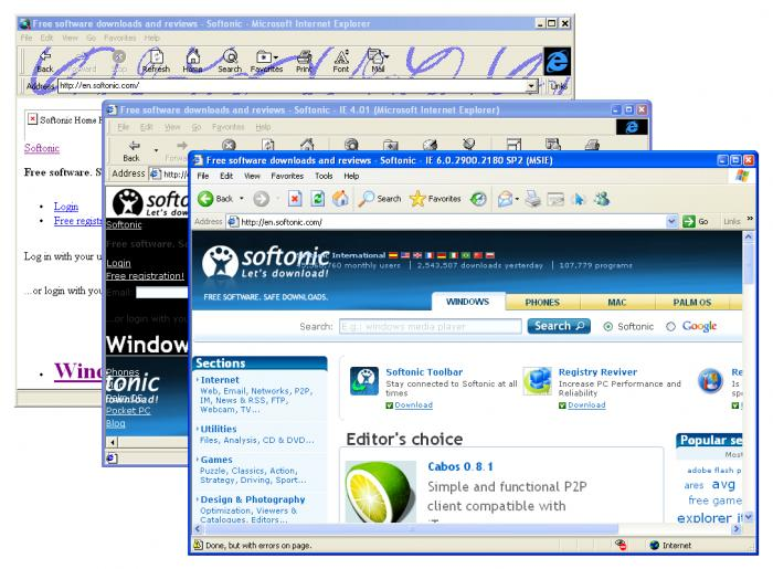 Screenshot 3 of Utilu Internet Explorer Collection