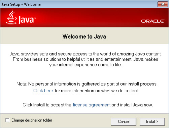 Java runtime environment -jre latest version 2019 free download.